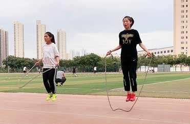 一分钟跳绳训练