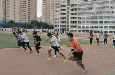 兰州西关中考体育训练-短跑